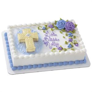 Decopac Ornate Cross Cake Kit