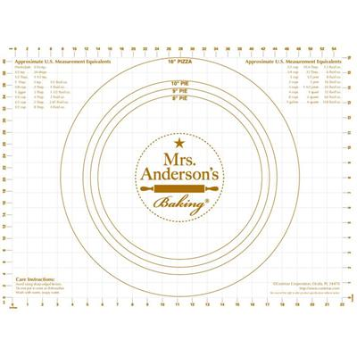 Mrs Anderson S 18 Quot X 24 Quot Flexible Pastry Mat With Measurments