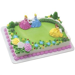 Disney Princess Garden Royalty Cake Kit