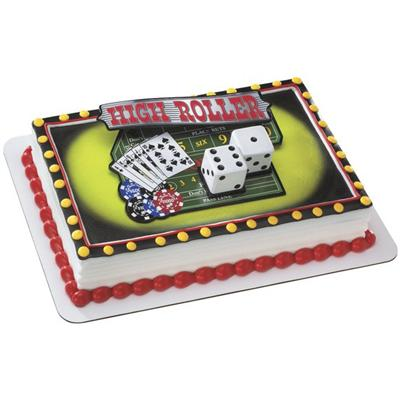 Decopac Casino Night Out Cake Kit