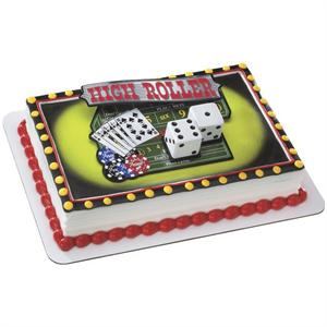 Casino Night Out Cake Kit
