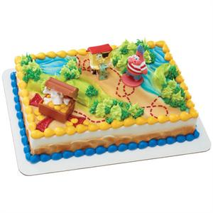 Decopac Spongebob Squarepants Pirates Treasure Hunt Cake Kit