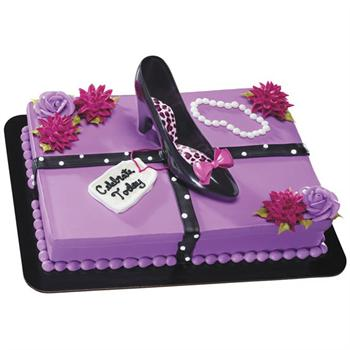 Decopac Favorite High Heel Shoe Cake Kit