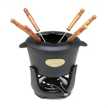 Norpro 10 Piece Cast Iron Fondue Set