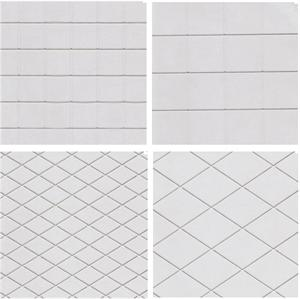 TBK Diamond And Square Assortment Impression Mats, Set Of 4