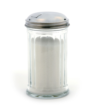 Glass Sugar  Dispenser