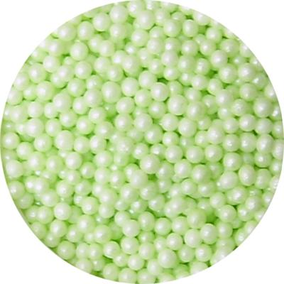 TBK 3mm Pastel Green Edible Pearls