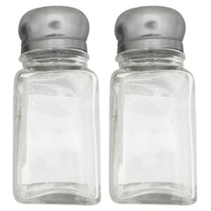 KitchenWorks Glass Salt And Pepper Shaker Set