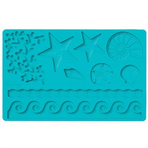 Sea Life Fondant and Gum Paste Mold