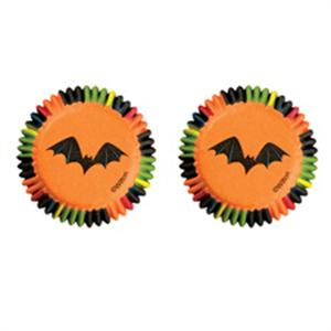 Halloween in 3-D Mini Baking Cups