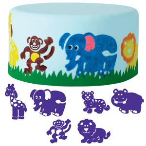Wilton 6-Pc. Animals Cake Stamp Set