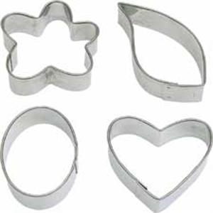 Fancy Shapes Fondant Cutters