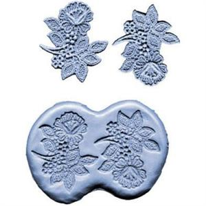 3 Inch Flower Spray Silicone Mold