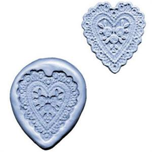 CK Products Heart Lace Silicone Mold