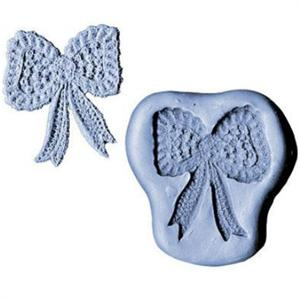 CK Products 2-1/4 Inch Lace Bow Silicone Mold