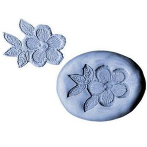CK Products Flowers And Leaves Lace Silicone Mold