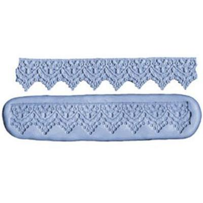 CK Products 1-1/2 Inch Lace Border Silicone Mold