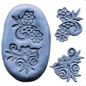 Flower Design Lace Silicone Mold