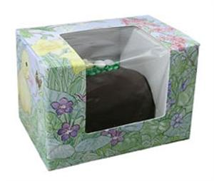 1/2 Pound Easter Garden Window Candy Box, 6 Count Pack