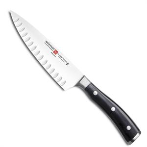 Wusthof Classic Ikon 6 Inch Cook's Knife, Hollow Edge