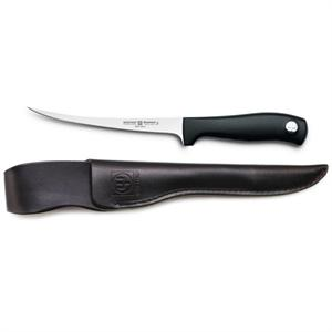 Wusthof Silverpoint II 7-in Flexible Fish Fillet Knife w/ Leather Sheath