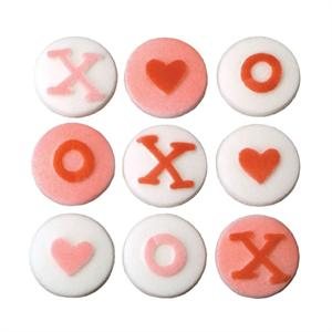 XOXO Sugar Decorations