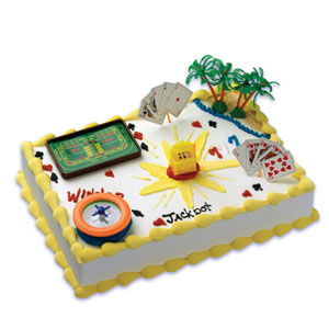Bakery Crafts Gaming Casino Cake Kit