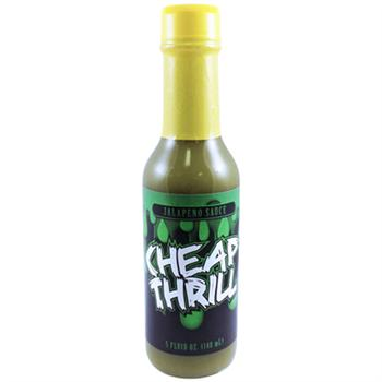 Cheap Thrill Jalapeno Sauce, 5 Ounce