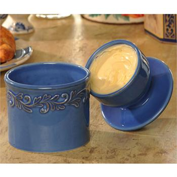 Tremain Azure Original Butter Bell Crock