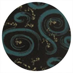 TBK Teal-Tan Swirl Transfer Sheet