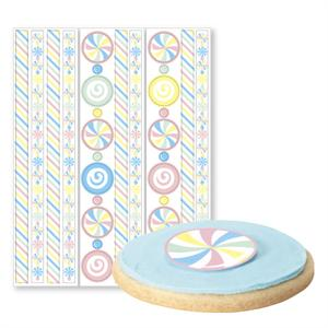 Wilton Candy Edible Pre-Cut Borders and Stickers