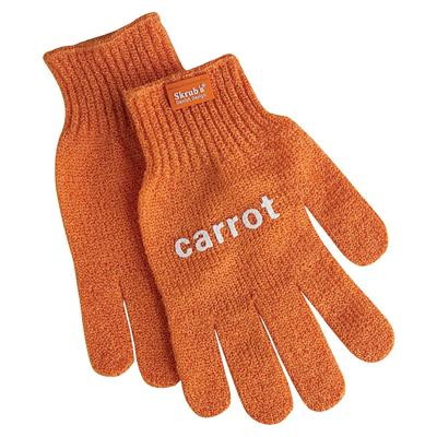 Fabrikators Carrot Skrub'a Glove, 1-Pair