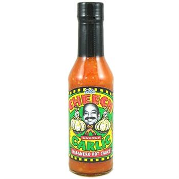 The Cheech Gnarly Garlic Habanero Hot Sauce, 5 Ounce
