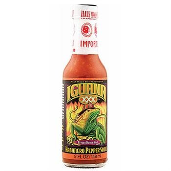 Iguana XXX Pretty Damn Hot Habanero Pepper Sauce, 5 Ounce