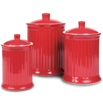Omni Simsbury Canisters, Set Of 3