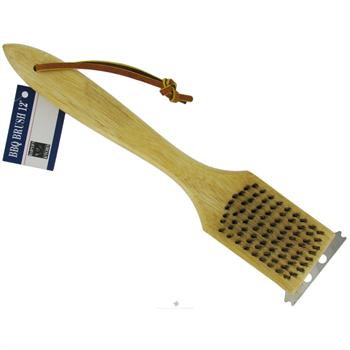 Harold Imports 12-Inch Wooden BBQ Brush