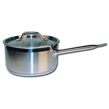 Winco Stainless Steel 4 Qt Sauce Pan w/ Lid
