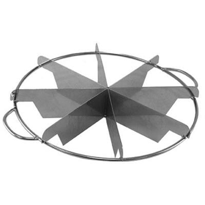 Winco 8 Slice Stainless Steel Pie Cutter