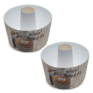 Welcome Home Brands Small Bundt Tube Baking Pan Photo Sweets