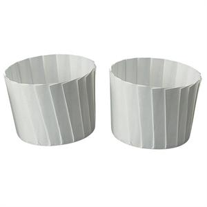 Welcome Home Brands White Pleated Baking Cups