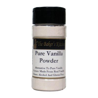 TBK Pure Vanilla Powder - 3.5 Ounce Jar