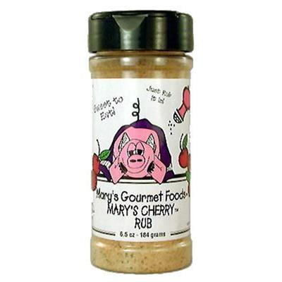 Mary's Cherry Rub, 6.5 Ounce Jar