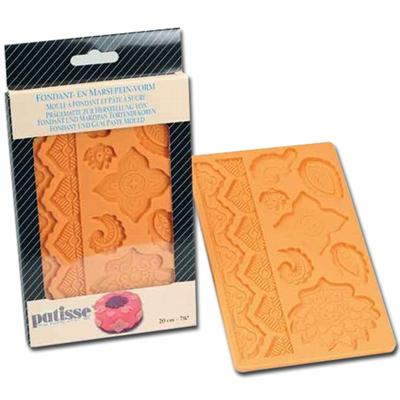 Patisse Global Designs Flexible Fondant & Gum Paste Mold