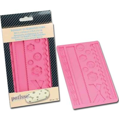 Patisse Fabric Designs Flexible Fondant & Gum Paste Mold