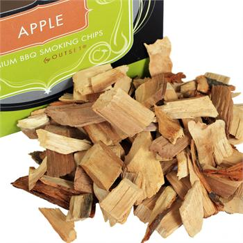 Outset F709, Apple Wood Smoking Chips (150 cu. in.)