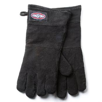 Kingsford Black Leather BBQ Grill Gloves