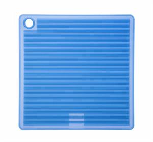 Orka Blue Square Silicone Pot Holder/Trivet