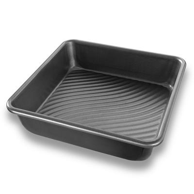 "Patriot Pan 8"" Aluminized Steel Square Cake Pan"