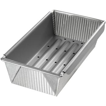 USA Pans Meat Loaf Pan with Insert, 10-in x 5-in