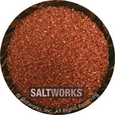 Salt Works Alaea Hawaiian Fine Sea Salt, 7.5 oz